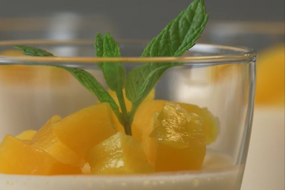 Mango Peaches Mousse