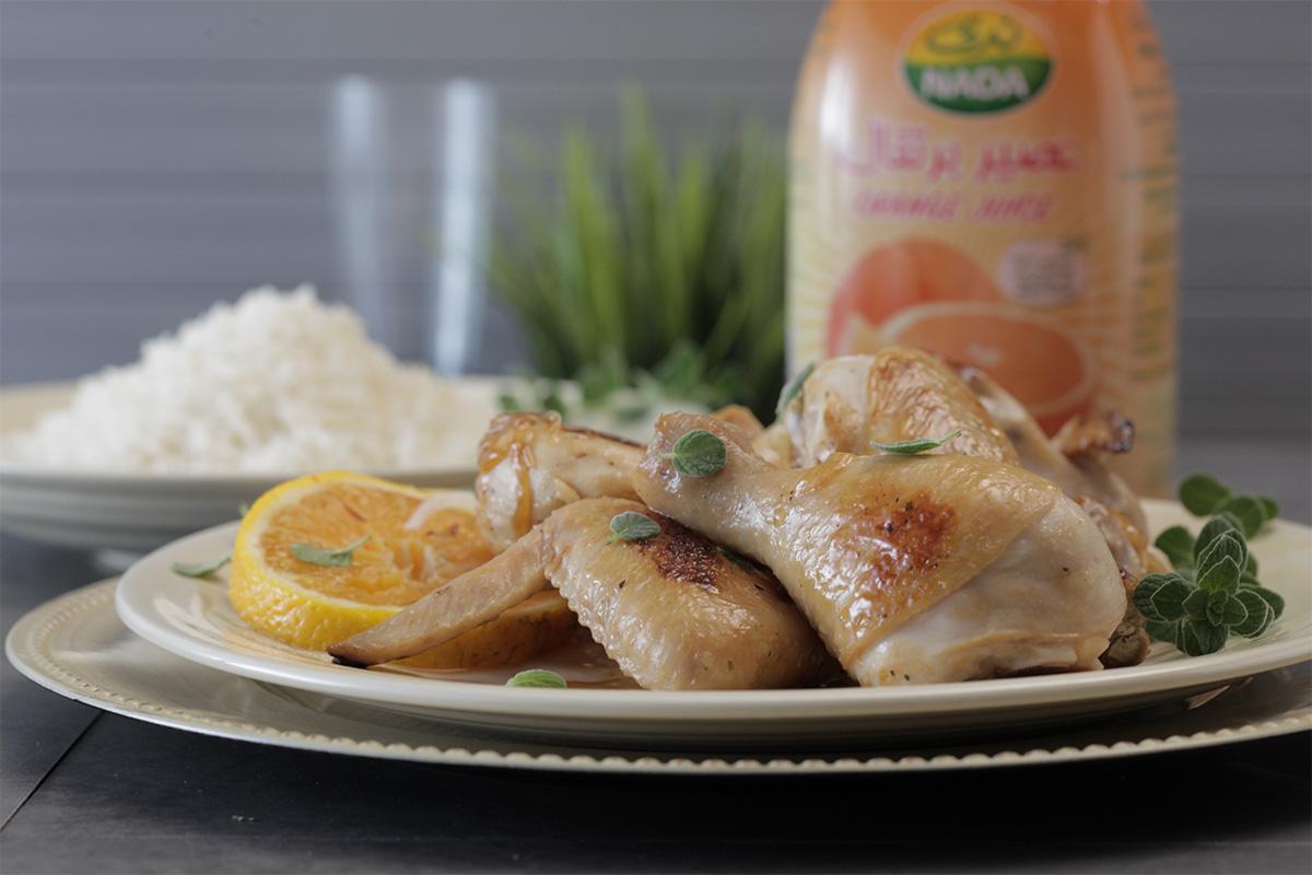 Orange Thyme Roasted Chicken